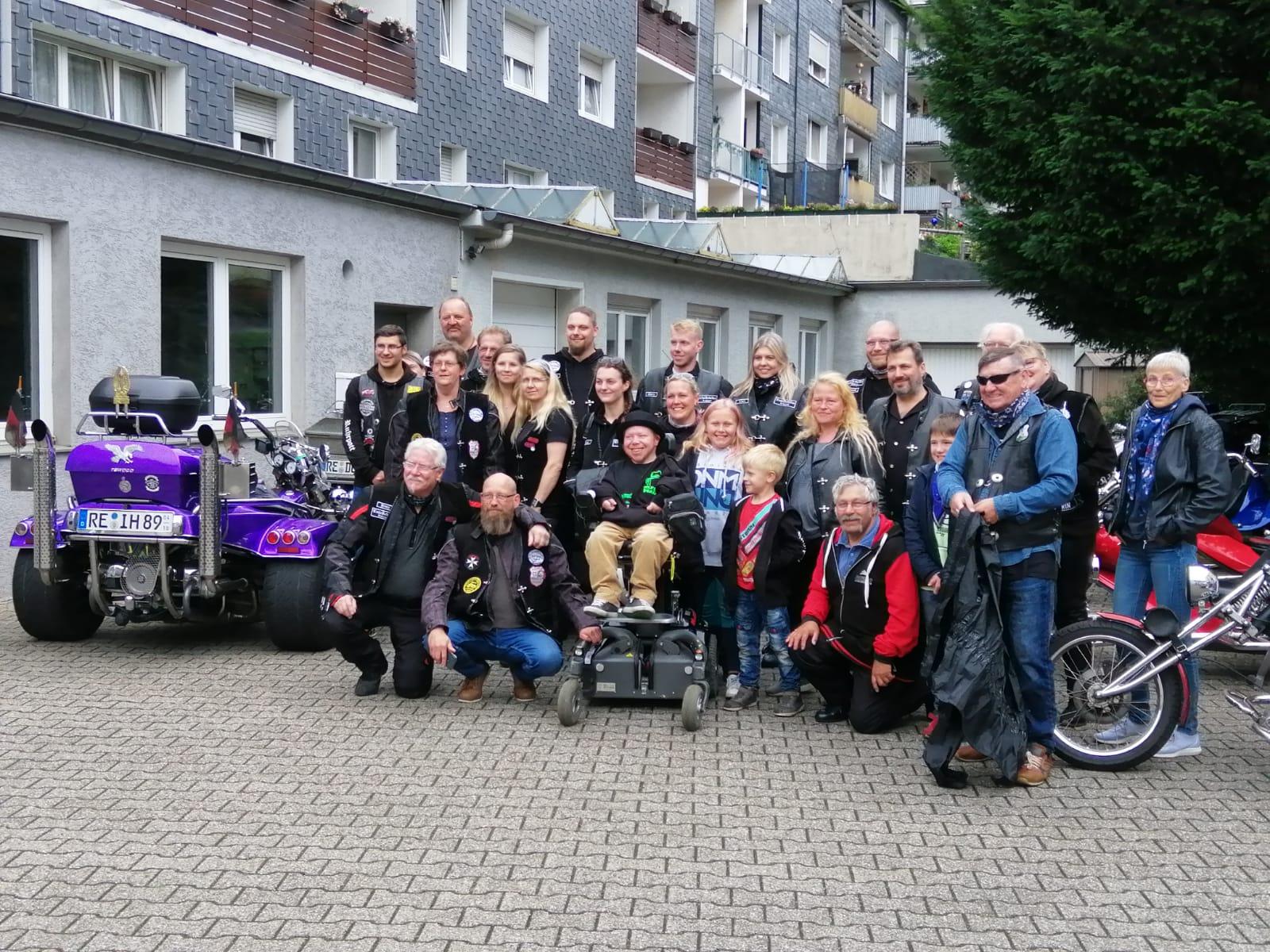 Die Trike Rebellen Ruhrpott brachten den Verein ins Rollen